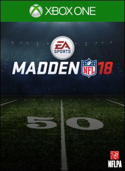 Madden NFL 18 (Xbox One) by Electronic Arts Box Art