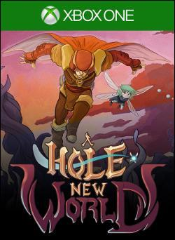 A Hole New World (Xbox One) by Microsoft Box Art