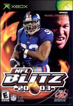 NFL Blitz 2003 (Xbox) by Midway Home Entertainment Box Art