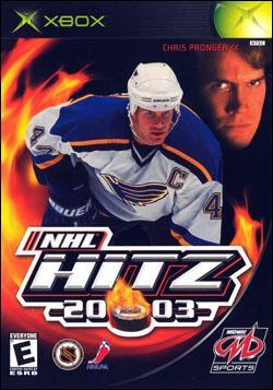 NHL Hitz 20-03 (Xbox) by Midway Home Entertainment Box Art
