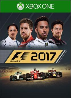F1 2017 (Xbox One) by Deep Silver Box Art
