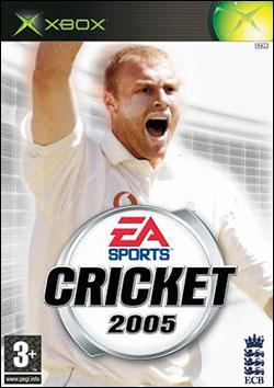 Cricket 2005 (Xbox) by Electronic Arts Box Art