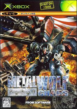 Metal Wolf Chaos (Xbox) by From Software Box Art