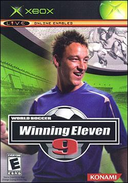 World Soccer Winning Eleven 9 (Xbox) by Konami Box Art