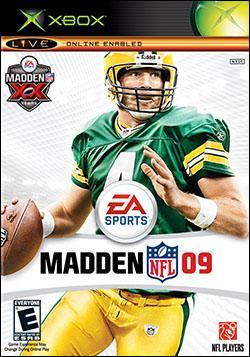 Madden NFL 09 (Xbox) by Electronic Arts Box Art