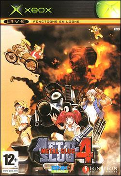 Metal Slug 4 (Xbox) by SNK NeoGeo Corp. Box Art