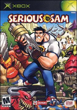 Serious Sam (Xbox) by Gotham Games Box Art