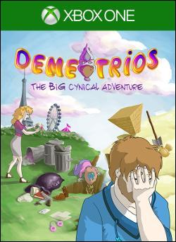 Demetrios: The BIG Cynical Adventure (Xbox One) by Microsoft Box Art