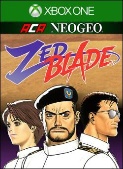 ACA NEOGEO ZED BLADE (Xbox One) by Microsoft Box Art