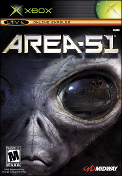 Area 51 (Xbox) by Midway Home Entertainment Box Art