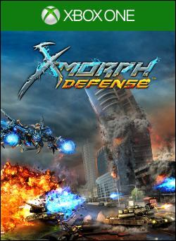X-Morph: Defense Box art