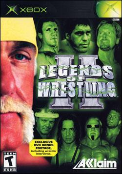 Legends of Wrestling 2 (Xbox) by Acclaim Entertainment Box Art