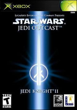 Star Wars Jedi Knight 2: Jedi Outcast (Xbox) by LucasArts Box Art