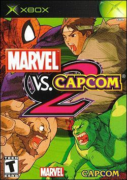 Marvel vs. Capcom 2 (Xbox) by Capcom Box Art