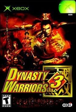 Dynasty Warriors 3 (Xbox) by KOEI Corporation Box Art