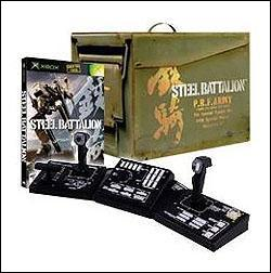 Steel Battalion (Xbox) by Capcom Box Art