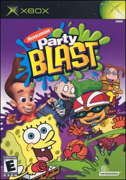 Nickelodeon Party Blast (Xbox) by Atari Box Art