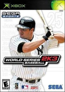 World Series Baseball 2K3 (Xbox) by Sega Box Art