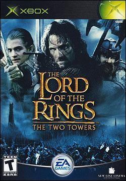 The Lord of the Rings: The Two Towers (Xbox) by Electronic Arts Box Art