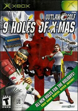 Outlaw Golf: 9 Holes of X-Mas (Xbox) by Simon & Schuster Interactive Box Art