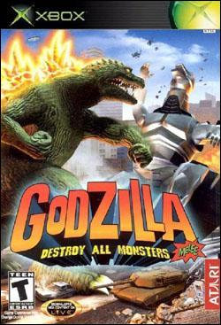 Godzilla: Destroy All Monsters Melee (Xbox) by Atari Box Art