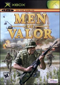 Men of Valor (Xbox) by Vivendi Universal Games Box Art