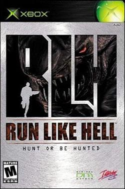 RLH: Run Like Hell (Xbox) by Interplay Entertainment Box Art