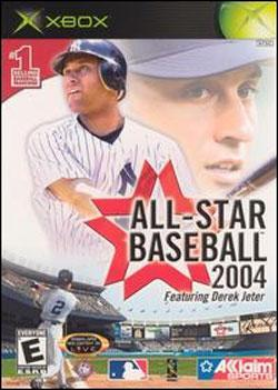 All-Star Baseball 2004 (Xbox) by Acclaim Entertainment Box Art