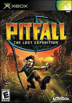 Pitfall: The Lost Expedition (Xbox) by Activision Box Art