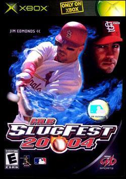 MLB Slugfest 2004 (Xbox) by Midway Home Entertainment Box Art