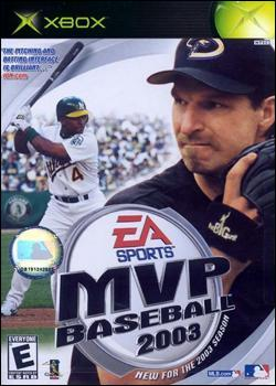 MVP Baseball 2003 (Xbox) by Electronic Arts Box Art
