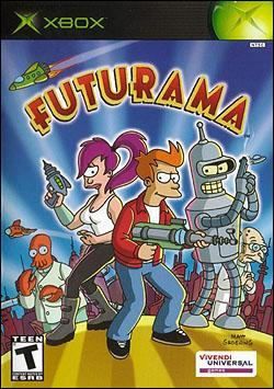 Futurama (Xbox) by Vivendi Universal Games Box Art