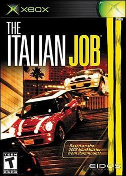 Italian Job (Xbox) by Eidos Box Art