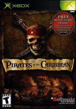 Pirates of the Caribbean (Xbox) by Bethesda Softworks Box Art