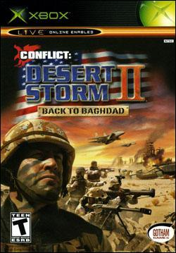 Conflict: Desert Storm II : Back to Baghdad (Xbox) by Gotham Games Box Art