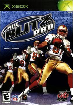 NFL Blitz Pro (Xbox) by Midway Home Entertainment Box Art