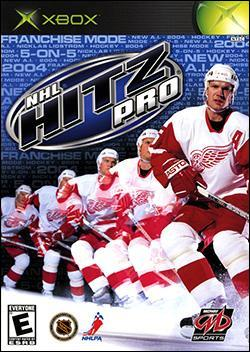 NHL Hitz Pro (Xbox) by Midway Home Entertainment Box Art