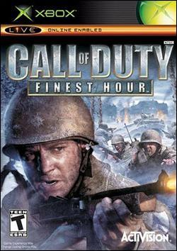 Call of Duty: Finest Hour (Xbox) by Activision Box Art