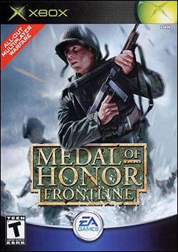 Medal of Honor: Frontline (Xbox) by Electronic Arts Box Art