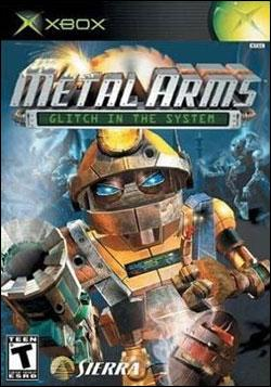 Metal Arms: Glitch In The System (Xbox) by Sierra Entertainment Box Art