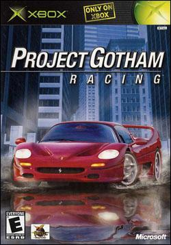 Project Gotham Racing Box art