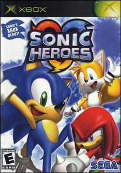 Sonic Heroes (Xbox) by Sega Box Art