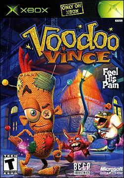 Voodoo Vince (Xbox) by Microsoft Box Art