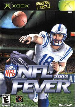 NFL Fever 2002 (Xbox) by Microsoft Box Art