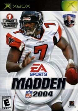 Madden NFL 2004 (Xbox) by Electronic Arts Box Art