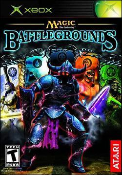Magic The Gathering : Battlegrounds (Xbox) by Atari Box Art