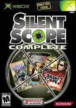 Silent Scope Complete (Xbox) by Konami Box Art