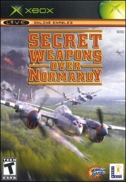 Secret Weapons Over Normandy (Xbox) by LucasArts Box Art