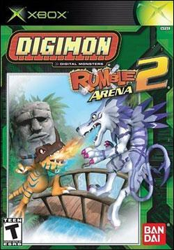 Digimon Rumble Arena 2 (Xbox) by Ban Dai Box Art