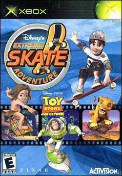 Disney's Extreme Skate Adventure (Xbox) by Activision Box Art